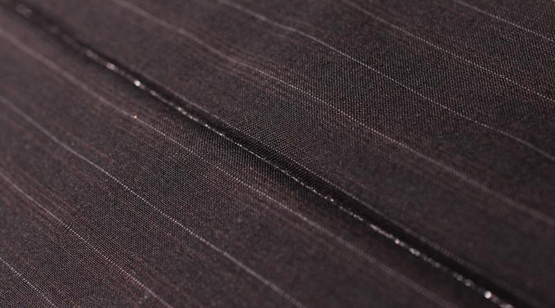スーツの納品とスタイリング