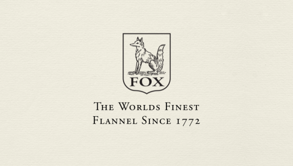 英国フランネル生地の代表「FOX BROTHERS」