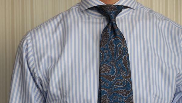 仕立て屋のネクタイの結び方