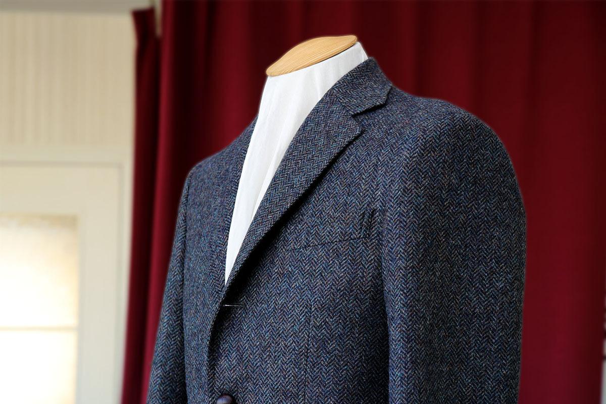ツイードの代表格MOONで仕立てるジャケット