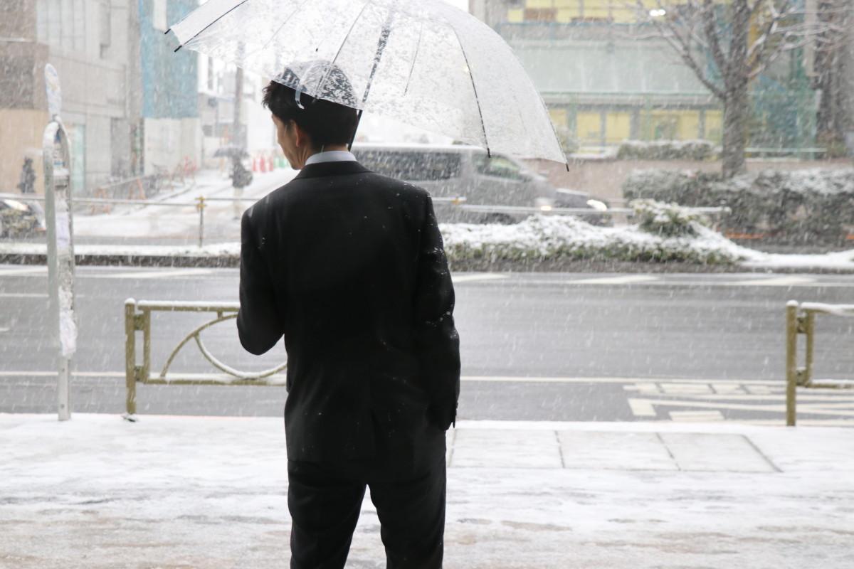 雪や雨で革靴が濡れた時の対処法