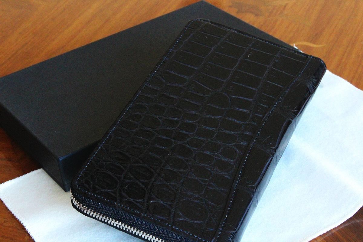 ポロサスの財布の気品