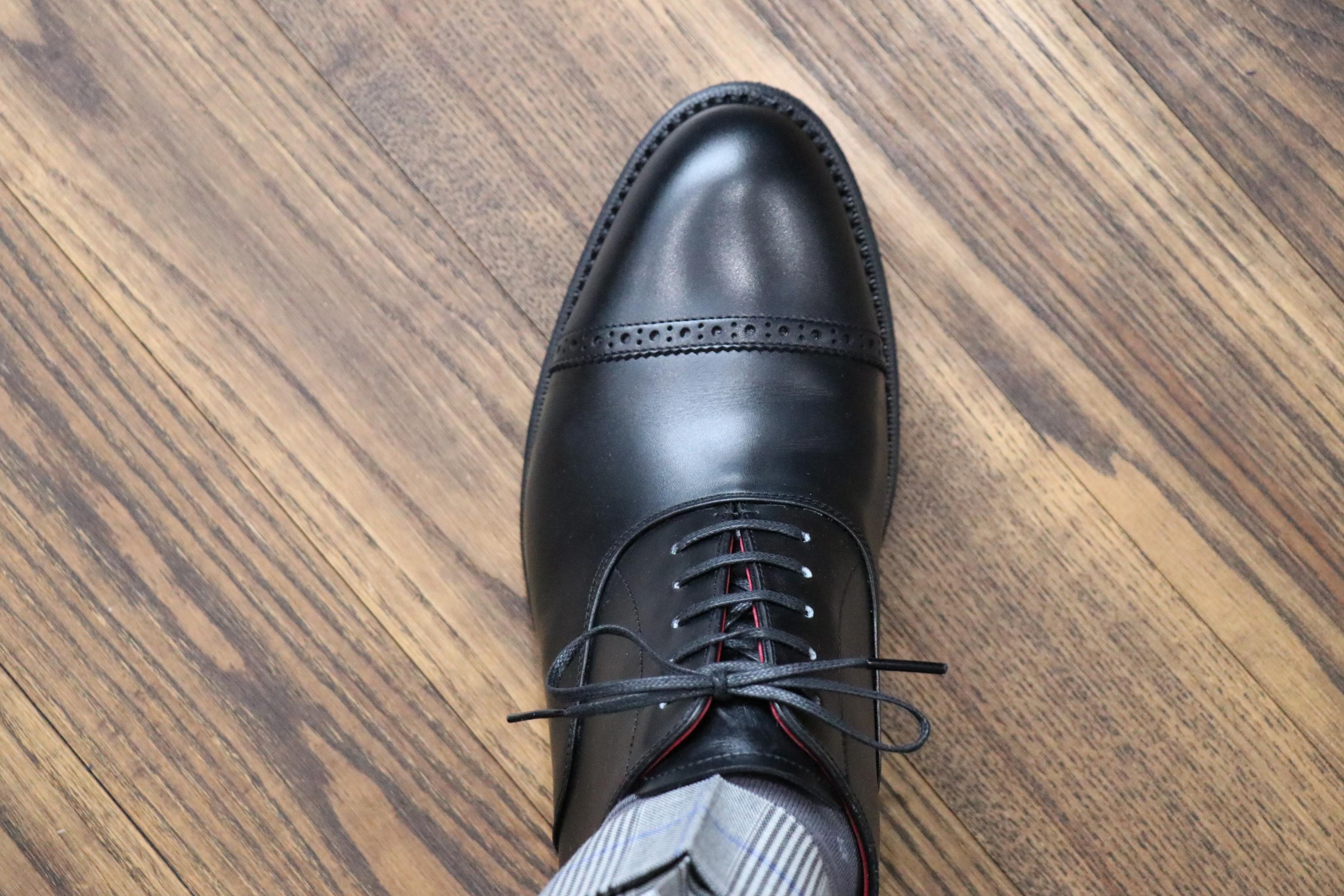 【革靴】グッドイヤー・ウェルト製法のサイズの選び方