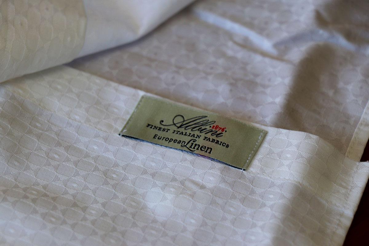 ヨーロッパ産のシャツ生地ブランド