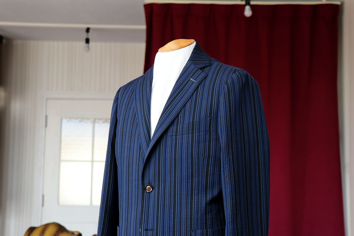 コードレーン&シアサッカー ナポリデザインのジャケット