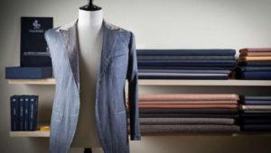 信頼の国産ブランド、コルキスの紺ブレ