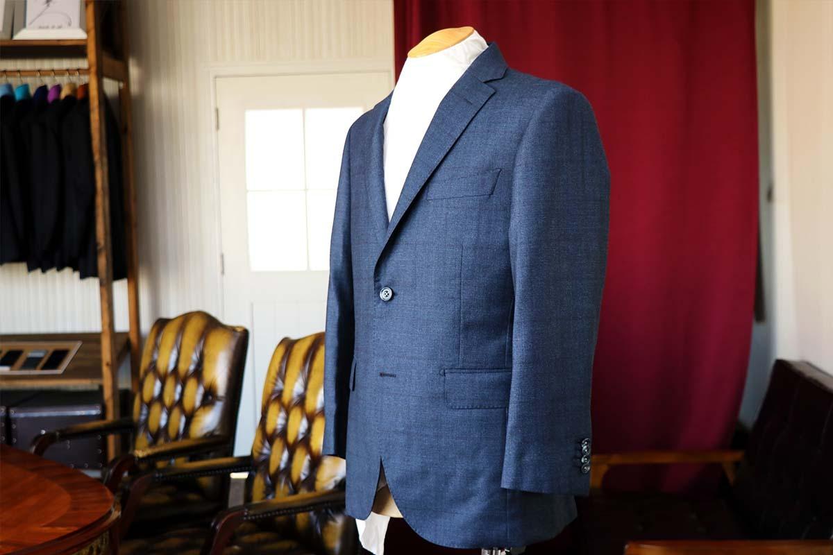 ロロピアーナ ソフトタッチで作るビジネススーツ