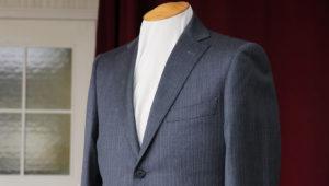 ネップ調のデザインが特徴の国産生地ジャケット