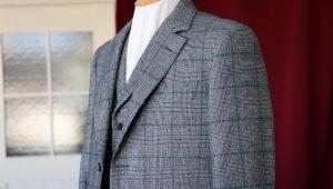 イタリアのツイードで仕立てるノーフォークジャケット