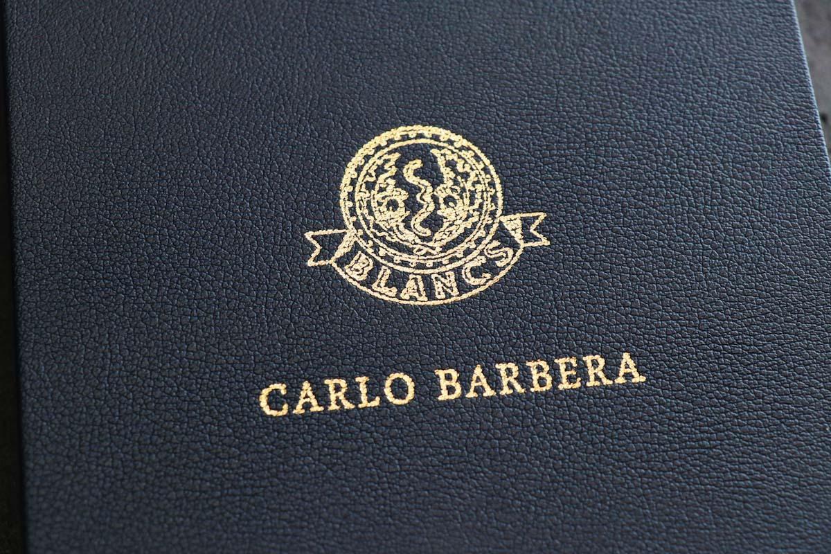 羅紗の宝石「 CARLO BARBERA カルロ・バルベラ」