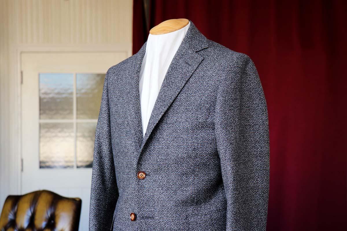 イタリア名門のファッション性をジャケットに