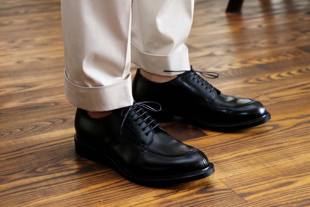 オーダースーツやビジネスカジュアルスタイルに合わせる靴