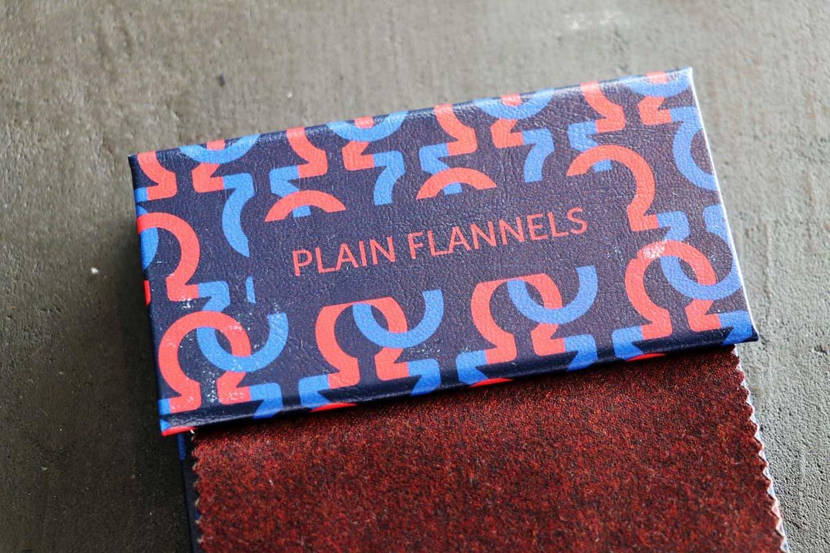 ナポリの名門「ARISTON PLAIN FLANNELS(アリストン プレーンフランネルズ)」