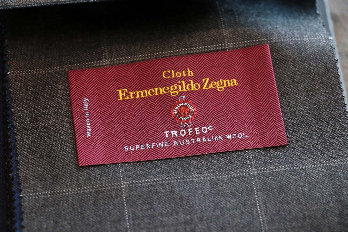 紳士服地の最高峰「ERMENEGILDO ZEGNA TROFEO (エルメネジルドゼニア トロフェオ)」