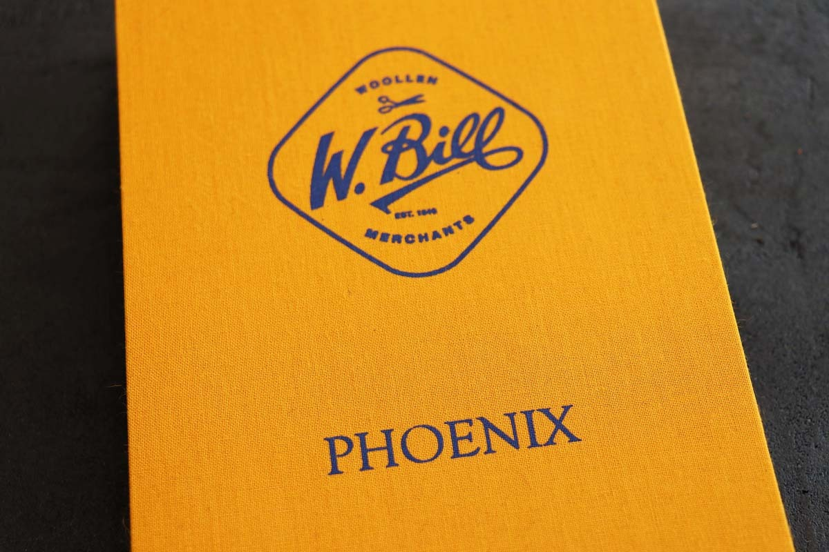 エッジの効いたブリティッシュジャケット「W.BILL PHOENIX(フェニックス)」