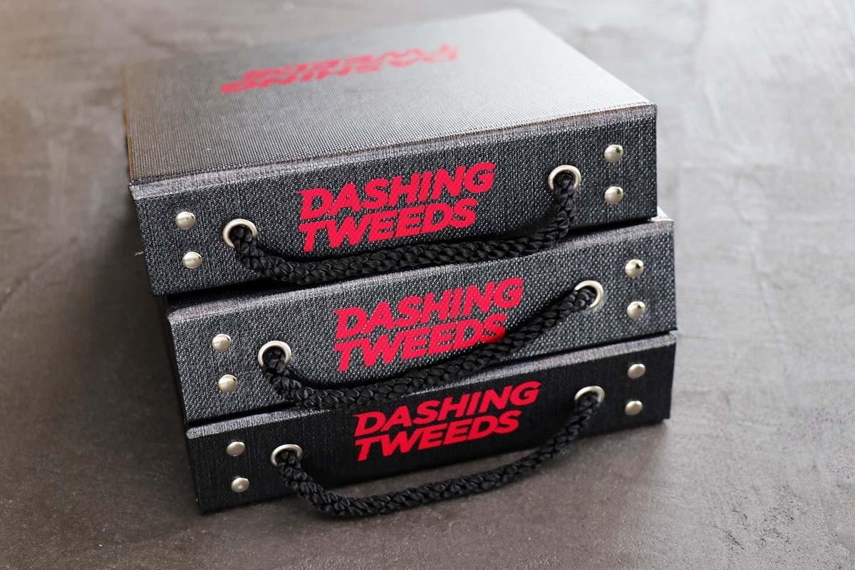 ロンドン発の斬新なツイード「DASHING TWEEDS(ダッシングツイード)」