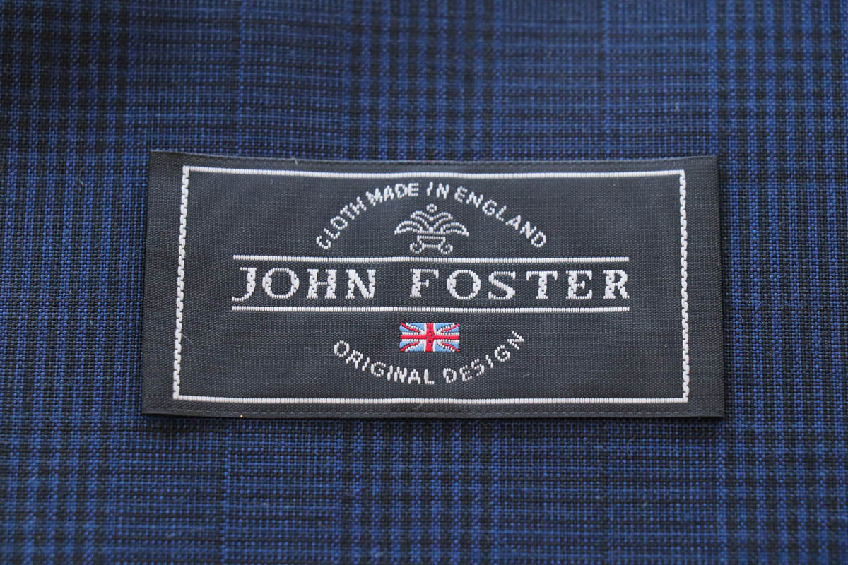 伝統的な英国生地の「ジョンフォスター」