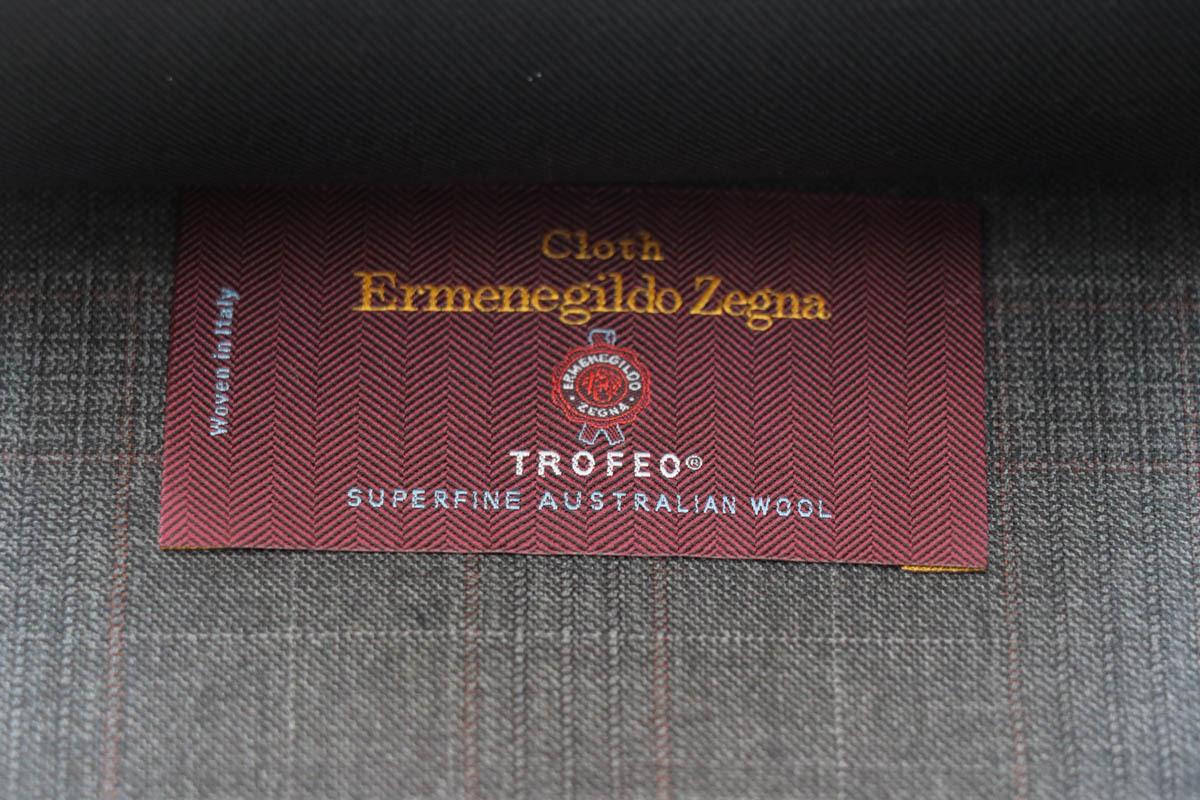紳士服地の最高峰「ERMENEGILDO ZEGNA TROFEO(エルメネジルドゼニア トロフェオ)」
