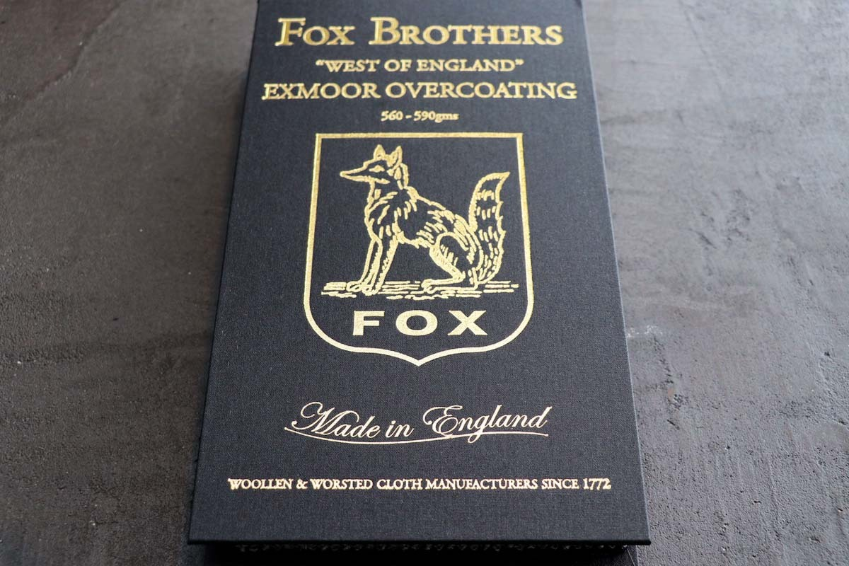 FOX BROTHERS EXMOOR OVERCOATING(フォックスブラザーズ エクスムーアオーバーコーティング)