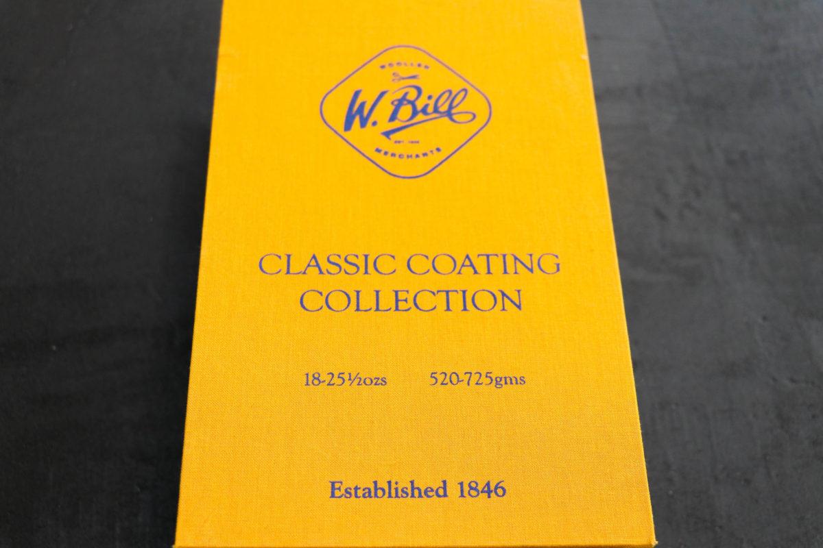 カントリーコートの代表格【W.BILL CLASSIC COATING COLLECTION】