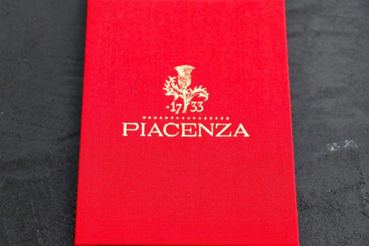 世界最古の毛織物「PIACENZA ピアツェンツァ」