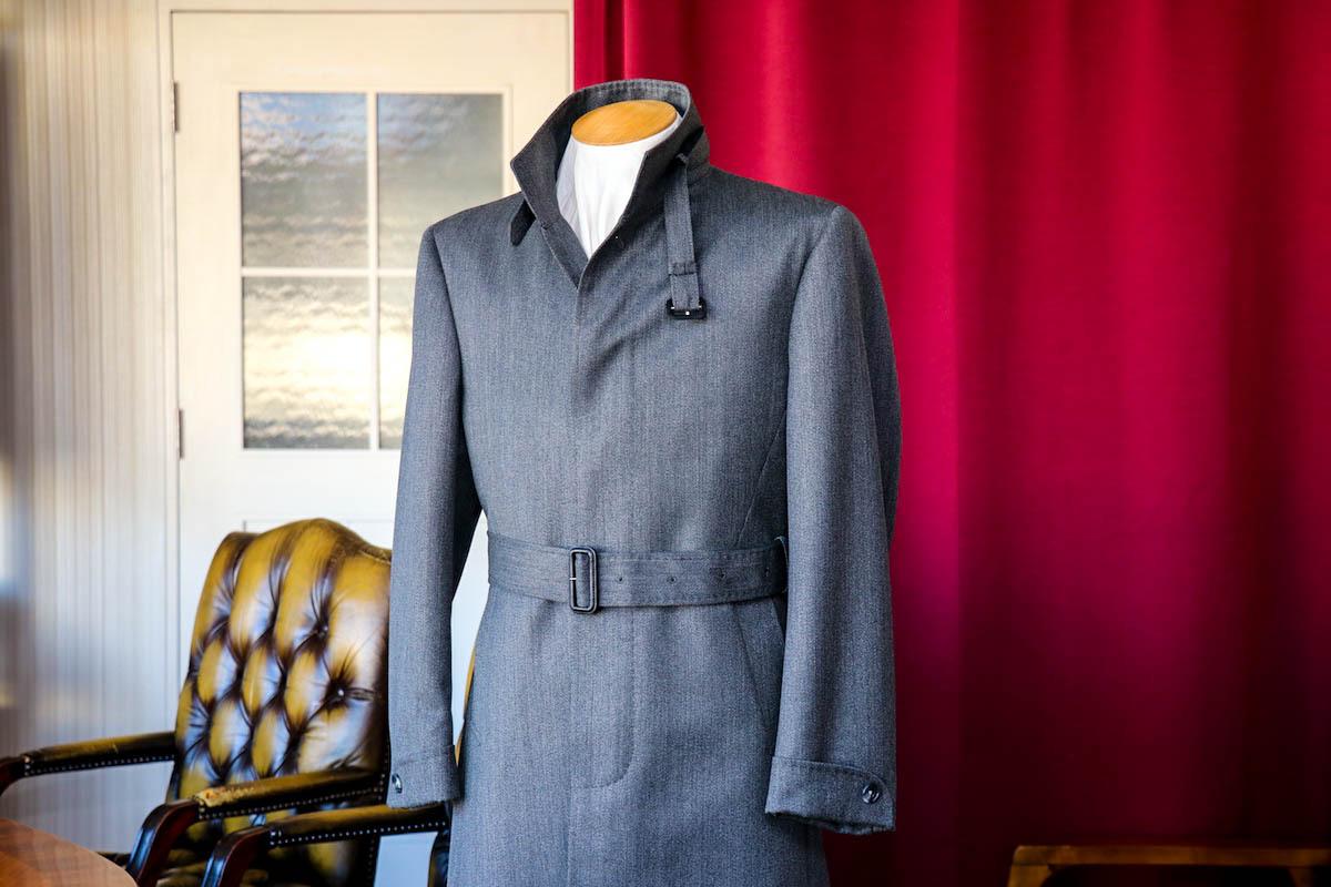 本格的な寒さに向け、コートのオーダーメイド