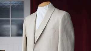 高級スーツの手縫いとマシンメイド