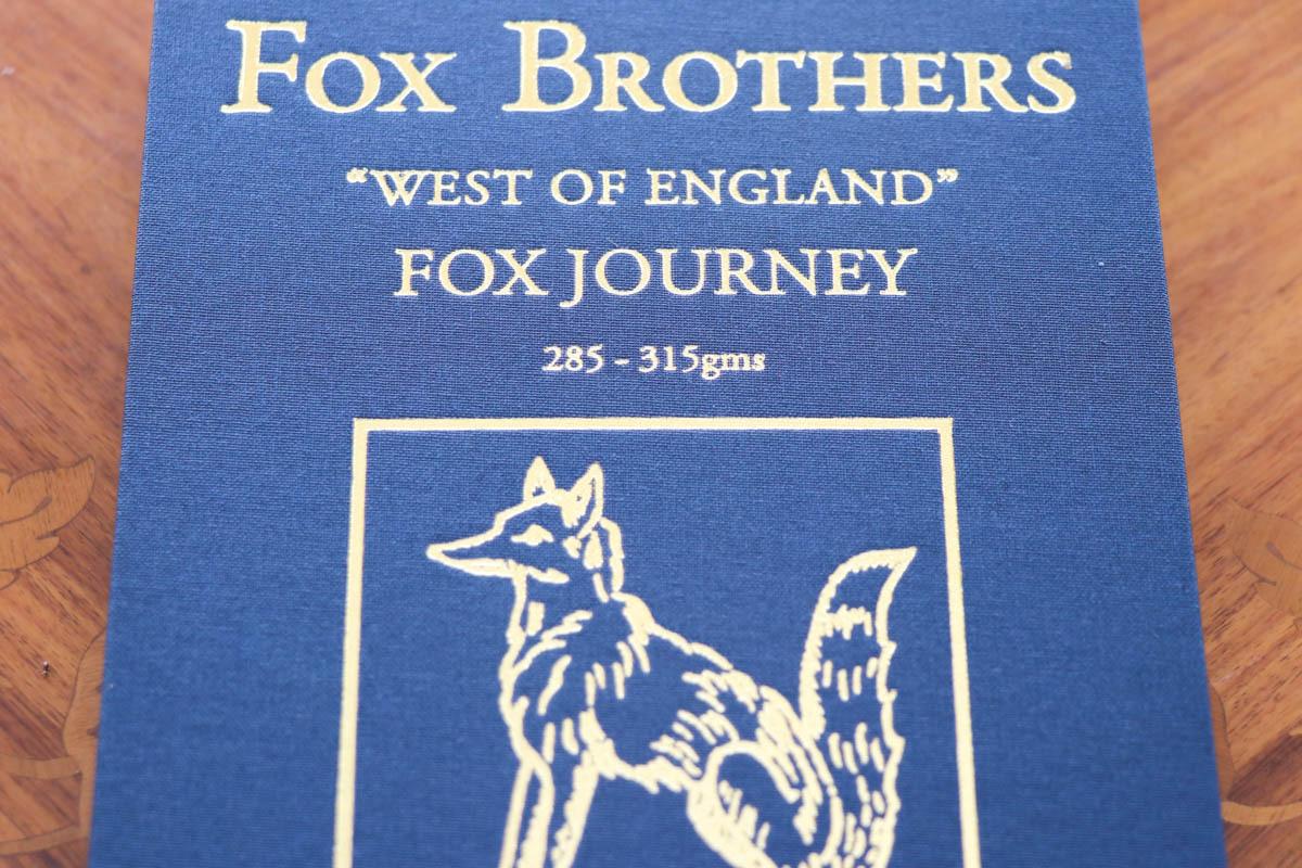 クラシックなイギリス生地の代表格【FOX BROTHERS JOURNEY(フォックス ブラザーズ ジャーニー】