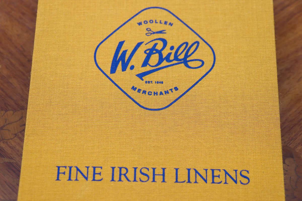 ピカソが愛したカントリー服地ブランド【W.Bill FINE IRISH LINENS(ウイリアム・ビル ファインアイリッシュリネン)】