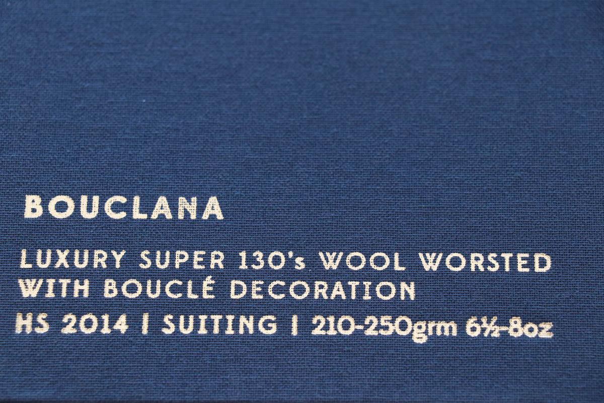 イギリスの高級服地ブランド「Holland&SherryBouclana (ホーランド&シェリー  ブークラナ)
