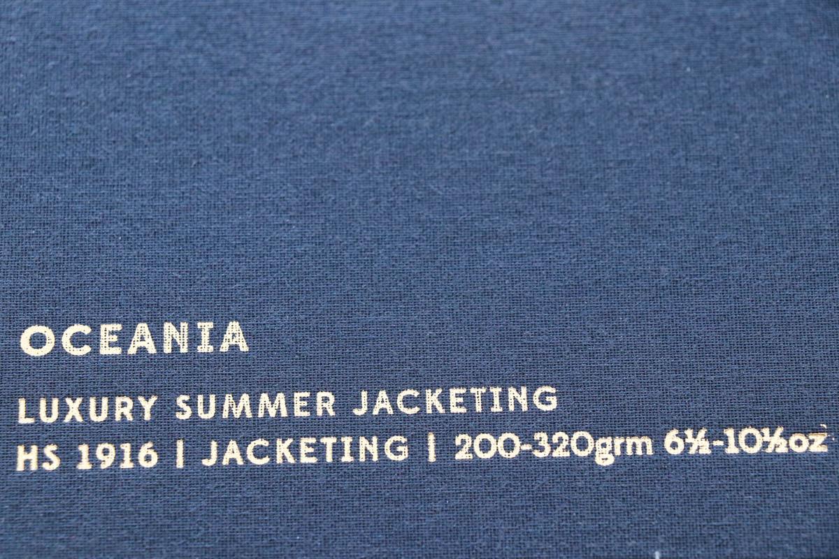 イギリスの高級服地ブランド「Holland&SherryOceania   (ホーランド&シェリー  オセアニア)