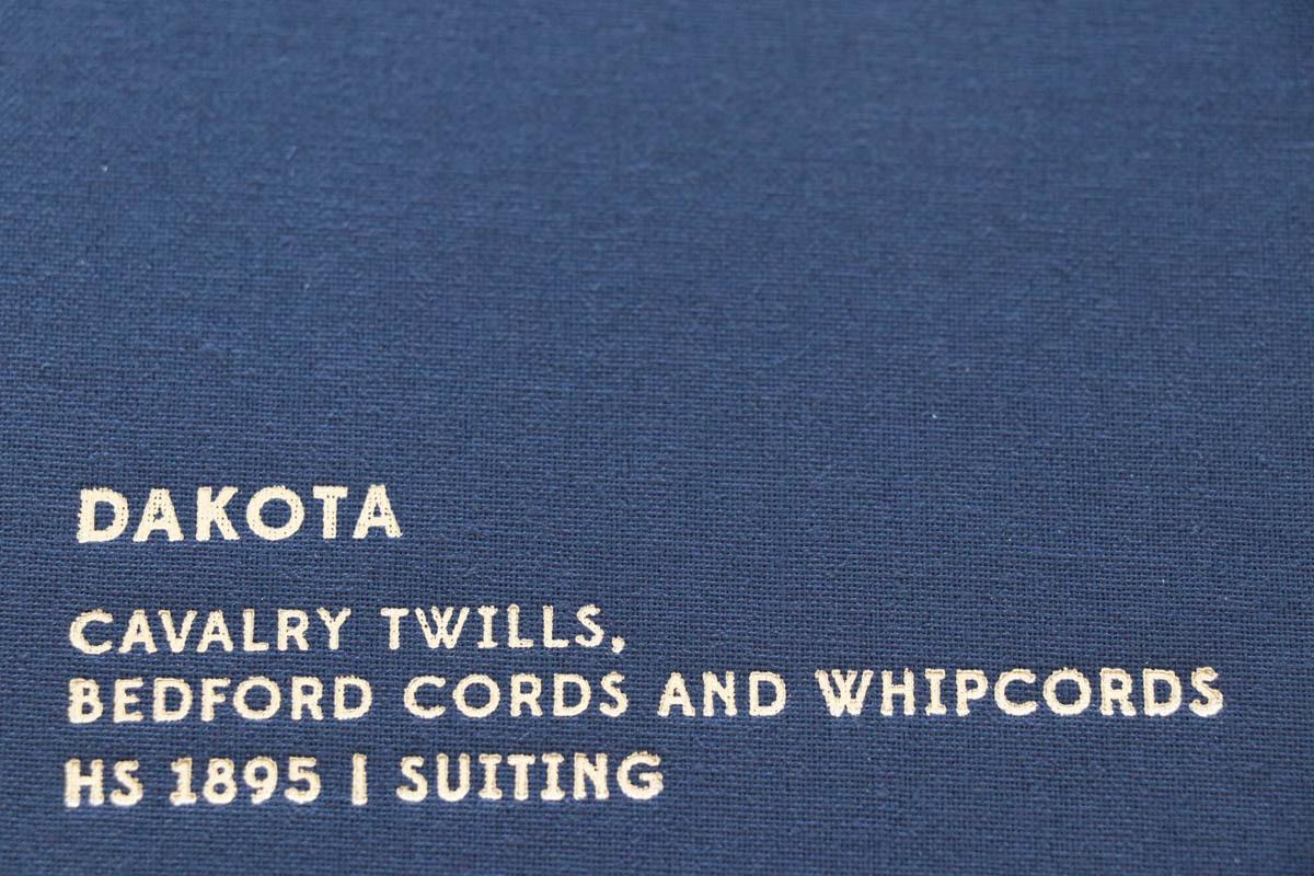 イギリスの高級服地ブランド「Holland&SherryDakota(ホーランド&シェリー ダコタ)