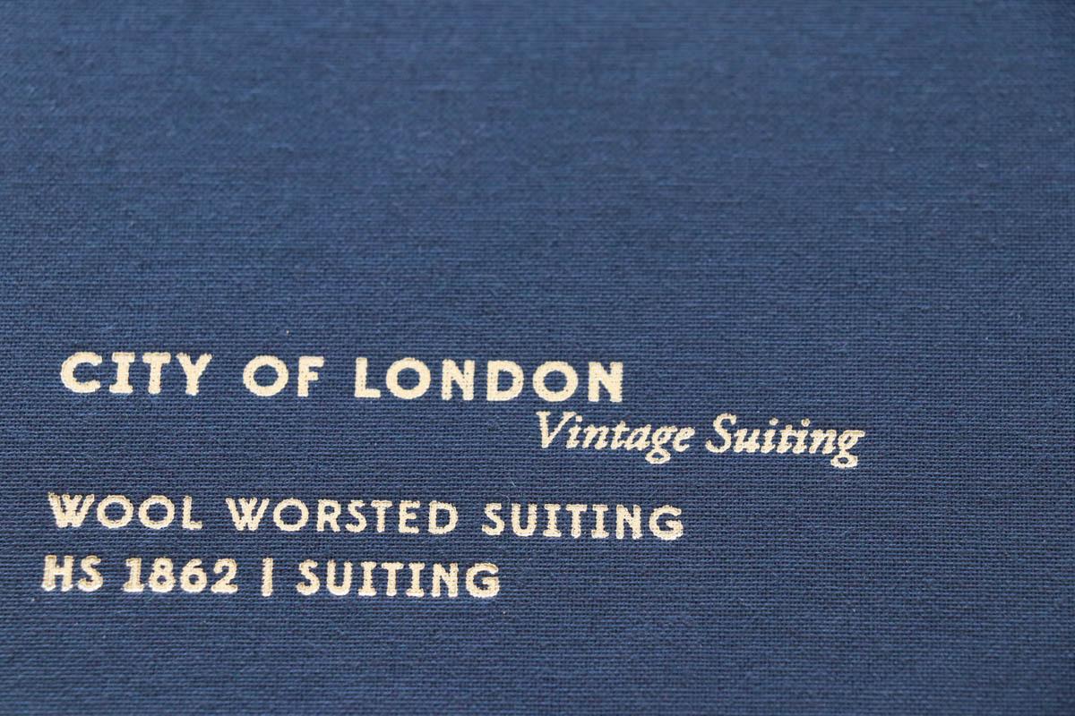 イギリスの高級服地ブランド「Holland&SherryCity of London(ホーランド&シェリー シティオブロンドン)