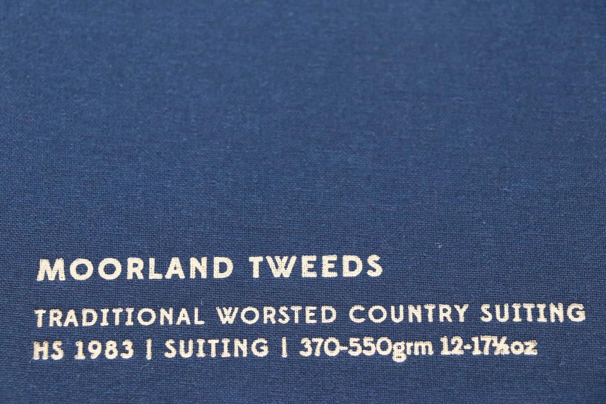 イギリスの高級服地ブランド「Holland&SherryMoorland Tweed(ホーランド&シェリー ムーアランドツイード)