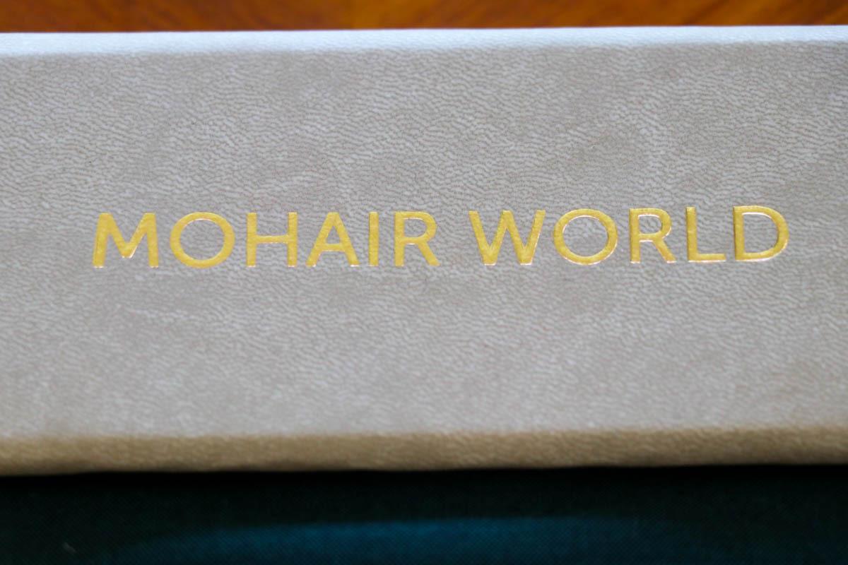ナポリの名門「ARISTON MOHAIR WORLD(アリストン モヘアワールド)」