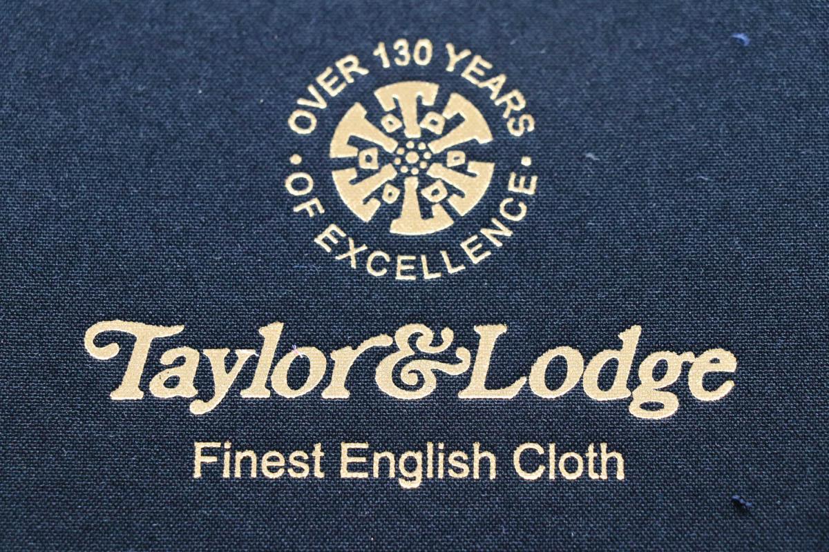 イギリス伝統のものつくり【Taylor & Lodge (テイラー&ロッジ)