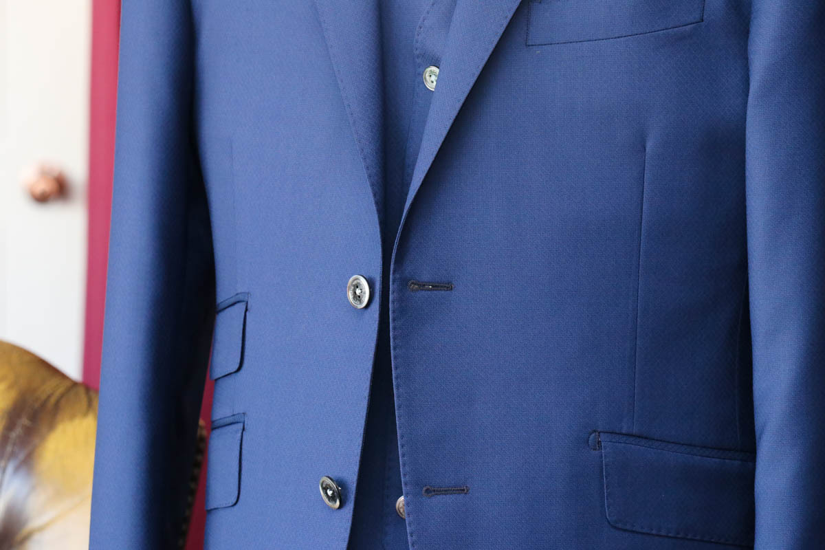 【スーツのディテール】チェンジポケットとは?