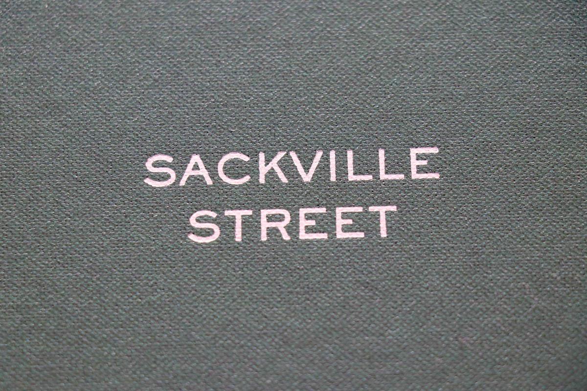 フランス発英国生地の名門「DORMEUIL SACKVILLE STREET(ドーメル サックビルストリート)」
