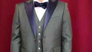カジュアルウエディングの衣装をメッシュ素材でコーディネート