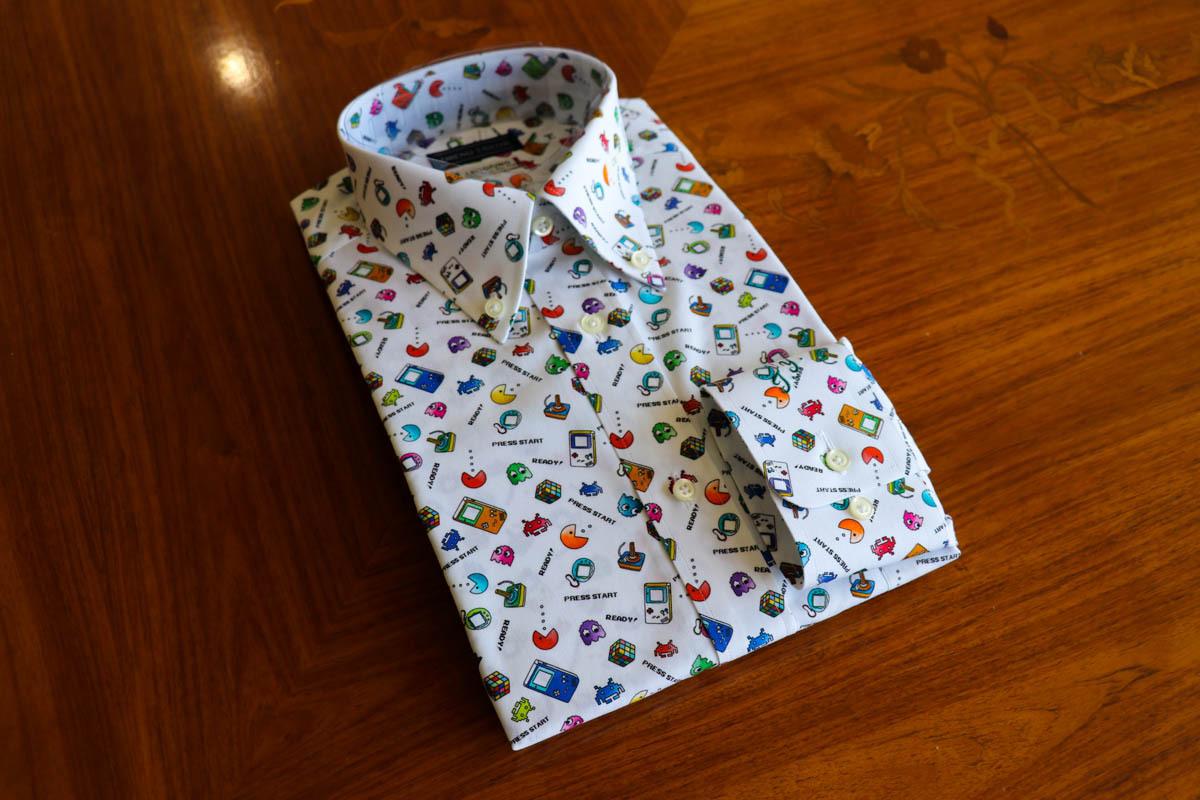 【スキッパーボタンダウンシャツ】特徴的な生地や襟元の仕様を活用したオーダーシャツの納品
