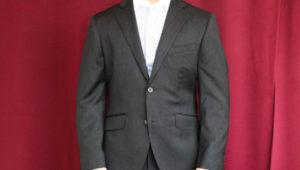 ドーメル 、アマデウスによる特徴的なチェックが新鮮なビジネススーツ