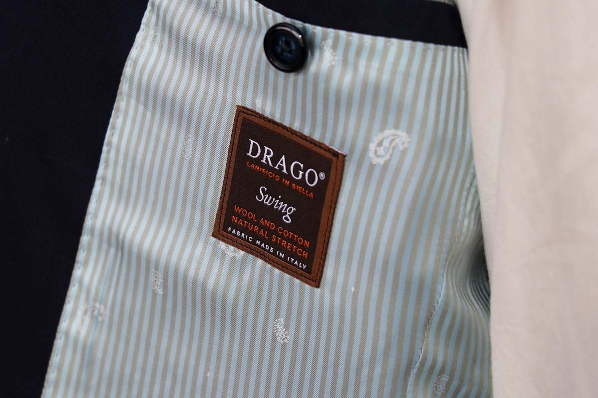 夏素材の新たなクオリティ「ウール×コットン」ドラゴのスイング