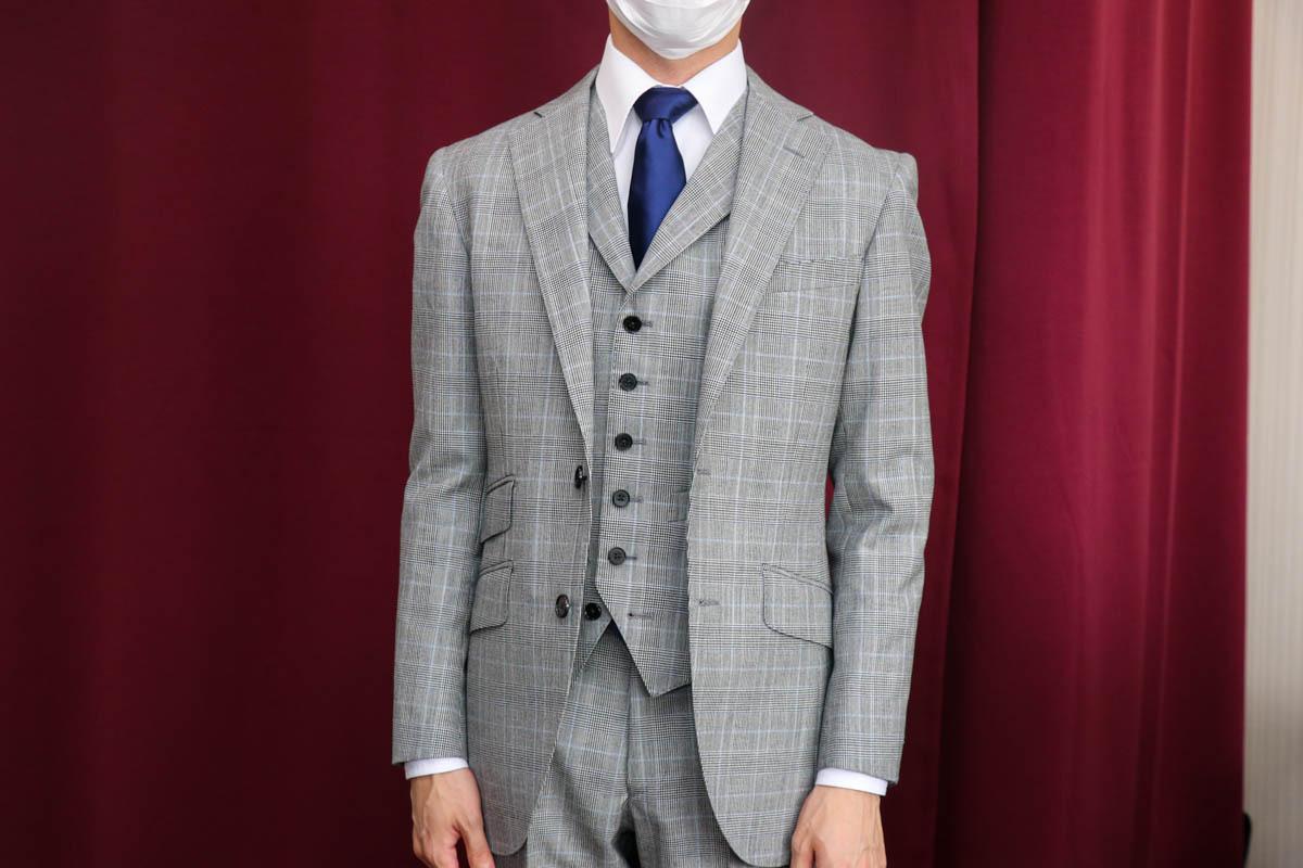 一生物のスーツを。ハリソンズのプリンスオブウェールズを仕立てる。