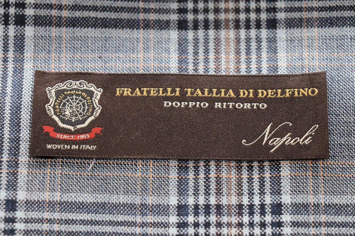 世界三大織元 色彩や織り技術が素晴らしいイタリアの名門【タリア・ディ・デルフィノ】(2020-2021秋冬)