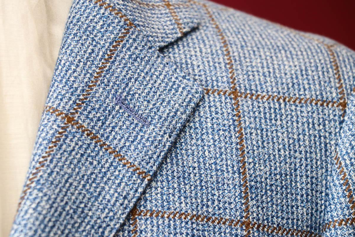 【夏のカジュアル素材】サマーツイードのジャケット生地