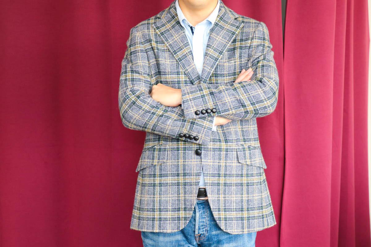 イギリスの名門、フォックスブラザーズの色使いが秀逸なツイードで作るジャケット