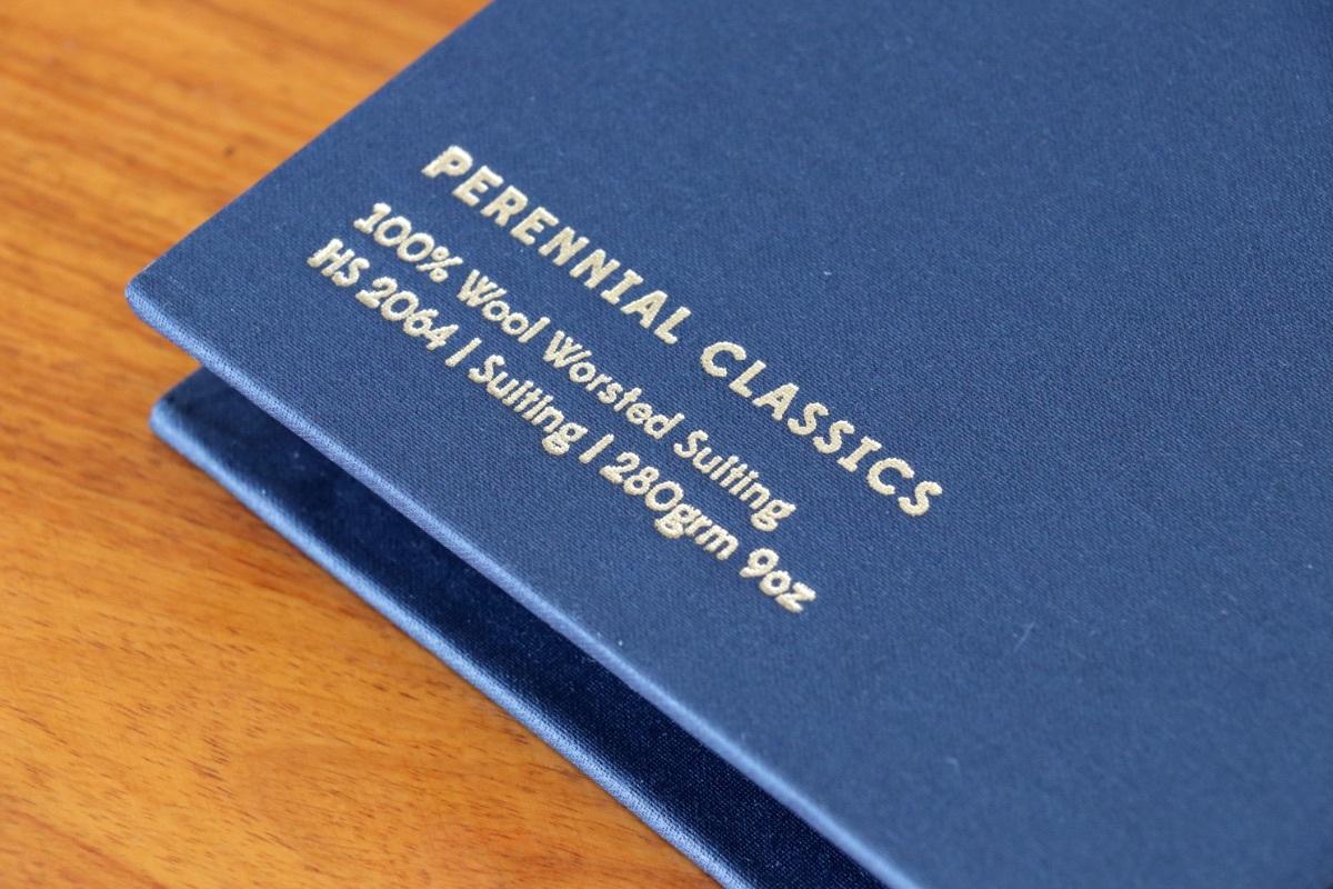 イギリスの高級服地ブランド「Holland&Sherry Perennial Classics (ホーランド&シェリー ペレニアルクラシックス)」