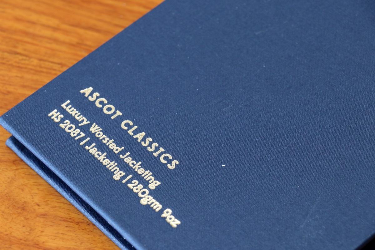 イギリスの高級服地ブランド「Holland&Sherry Ascot Classics (ホーランド&シェリー アスコットクラシックス)」