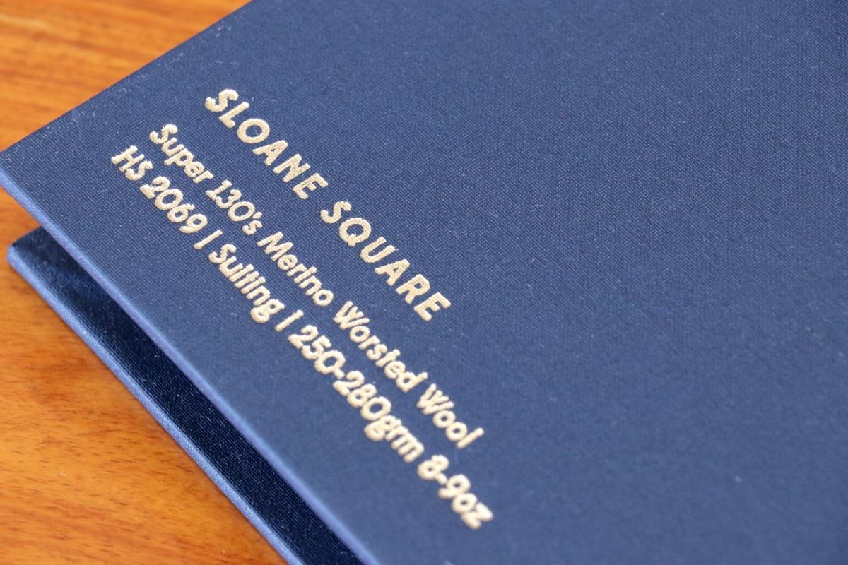 イギリスの高級服地ブランド「Holland&Sherry Sloane Square (ホーランド&シェリー スローンスクエア)」