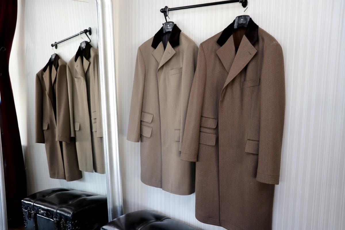 色違いのカバートコートを発見!思い入れのコートに興奮!